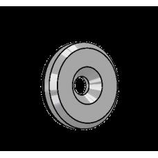 Abdeckscheibe Ø30 mm - für M6 Senkkopfschraube, Edelstahl