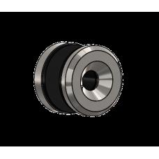 Abdeckscheibe Ø30 mm mit 7mm Wandabstand - für M8 Senkkopfschraube, Edelstahl