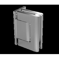 Biloba Hydraulikscharnier Glas - Wand, EV1 eloxiert