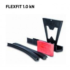 Flexfit 1.0 kN, für Glasstärke 16,76 mm, Profillänge = 5000 mm