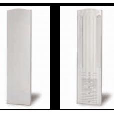 Endkappe Treppenaufgang links/rechts für Profil TL-6010, EV1 eloxiert