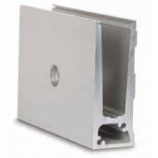 Glas Profil TL-6011, Profillänge = 5000 mm, EV1 eloxiert