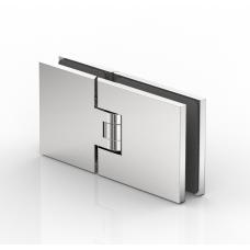 Flamea Duschpendeltürband Glas - Glas 180°, glanzverchromt