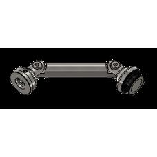 Winkelverbinder Glas/Wand 90° - 180°