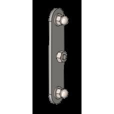 Lastabtragsplatte, Edelstahl