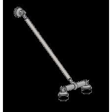 Achse B1 - Strebenlänge bis 1000 mm, Edelstahl