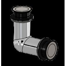 Winkelverbinder starr Glas/Glas 90°, für ESG 12 mm