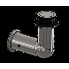 Winkelverbinder starr Glas/Wand 90°, für ESG 12 mm